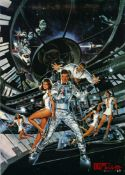 Film Poster James Bond Moonraker Soundtrack Roger Moore