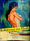 Film Poster Picnic on the Grass Brenot