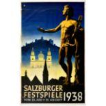 Advertising Poster Salzburg Music Festival Austria