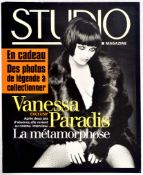 Advertising Poster Studio Magazine Vanessa Paradis