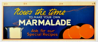 Advertising Poster Time To make Marmalade Oranges Home Cooking