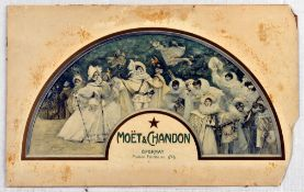 Advertising Poster Moet and Chandon Champagne Wine France