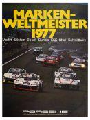 Sport Poster Porsche 935 Marken Weltmeister World Champion