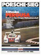 Sport Poster Martini Porsche 936 Pergusa Italy Sicily