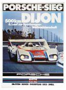 Sport Poster Martini Porsche 936 Dijon 500 km Ickx Mass