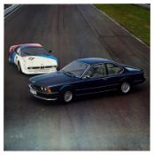 Advertising Poster BMW 635 CSi Coupe M1 Sports Car Germany
