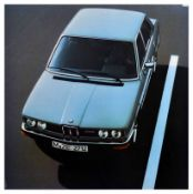 Advertising Poster BMW 525 Executive Car Germany