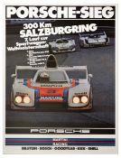 Sport Poster Porsche 936 300km Salzburgring Mass