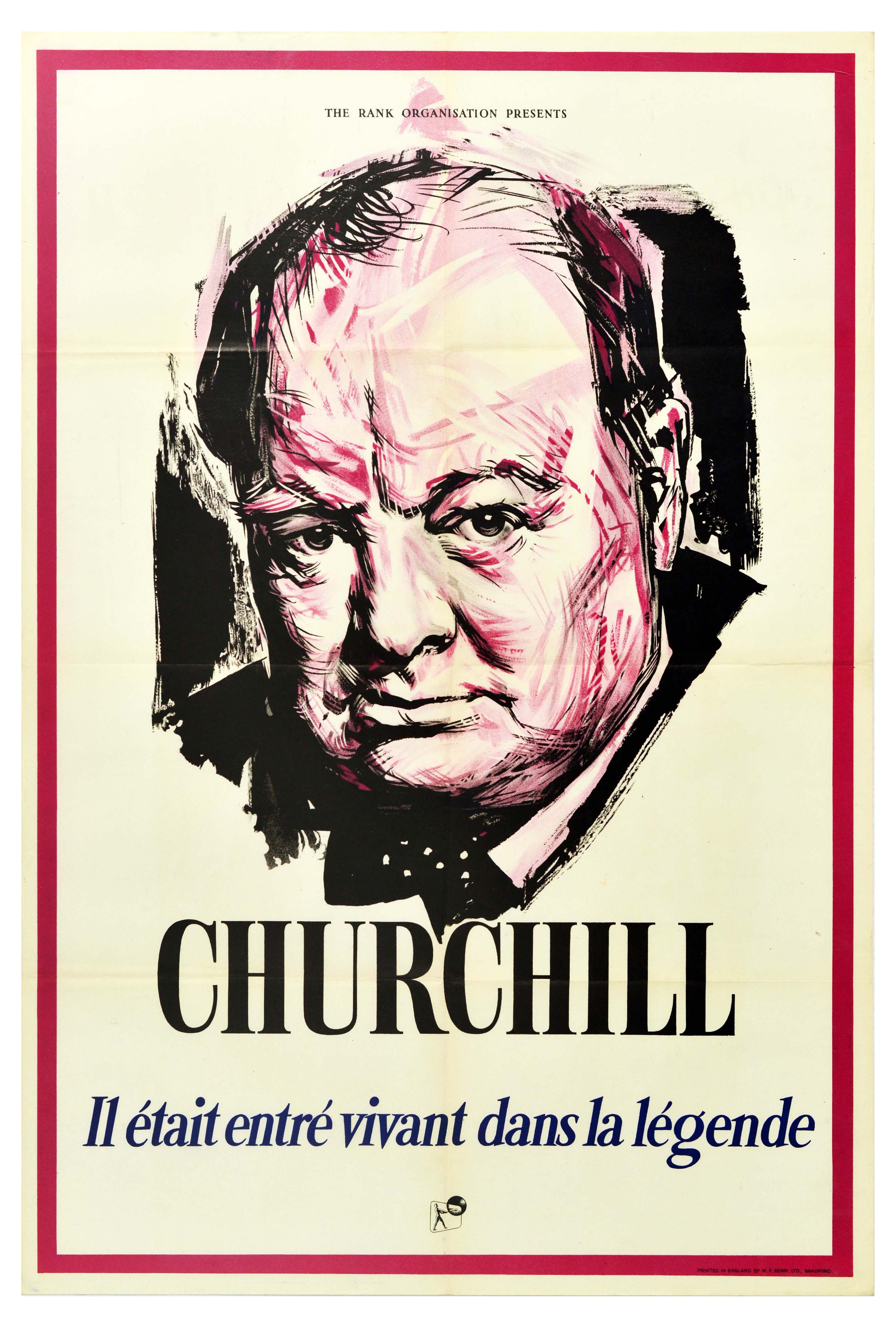Movie Poster Winston Churchill Champion Of Freedom Prime Minister