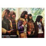 Advertising Poster Rolling Stones GO Magazine Jagger Richards Rock