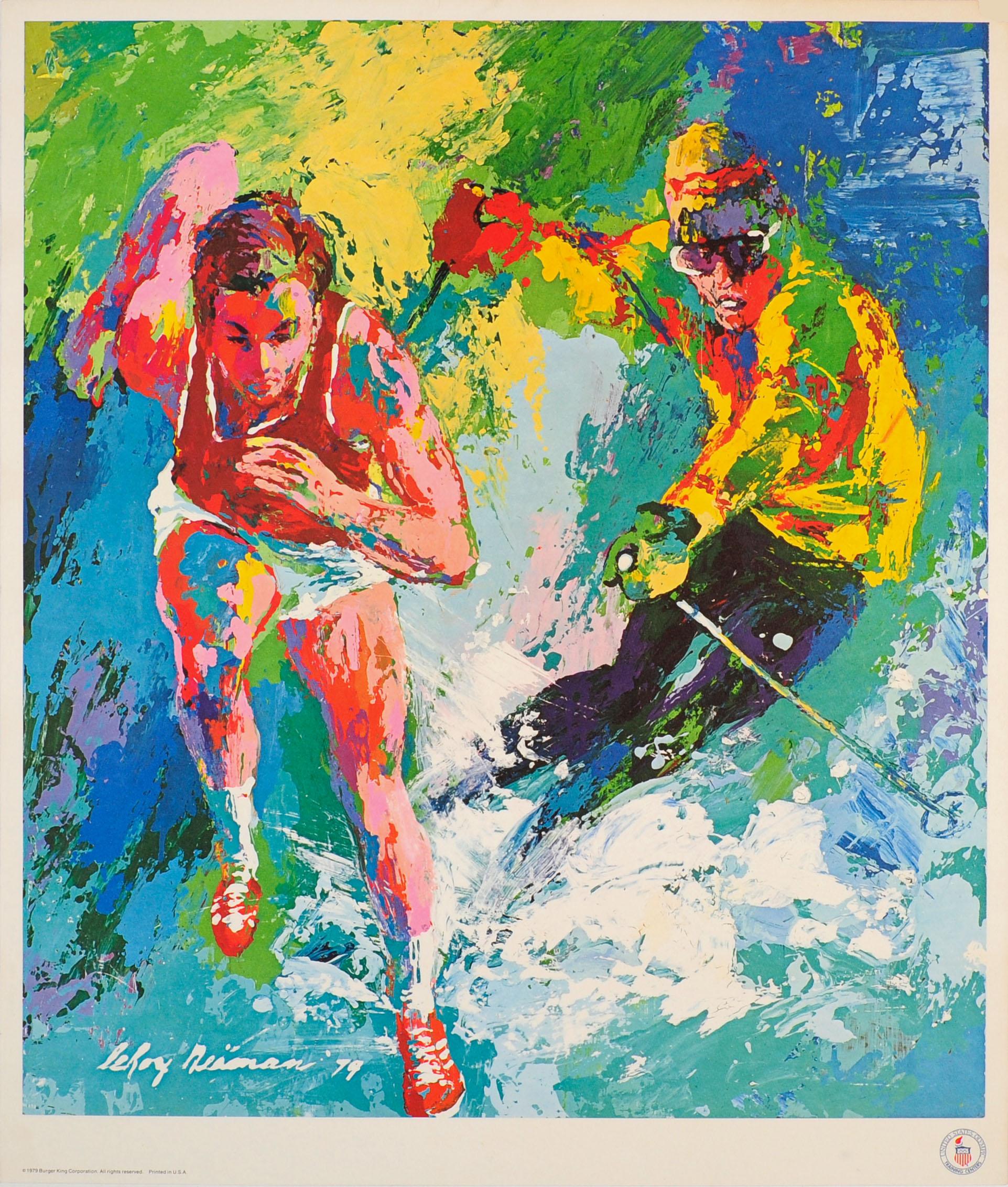 Sport Poster Winter Summer Ski Olympic LeRoy Neiman
