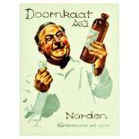Advertising Poster Doornkaat Norden Gin Ludwig Hohlwein