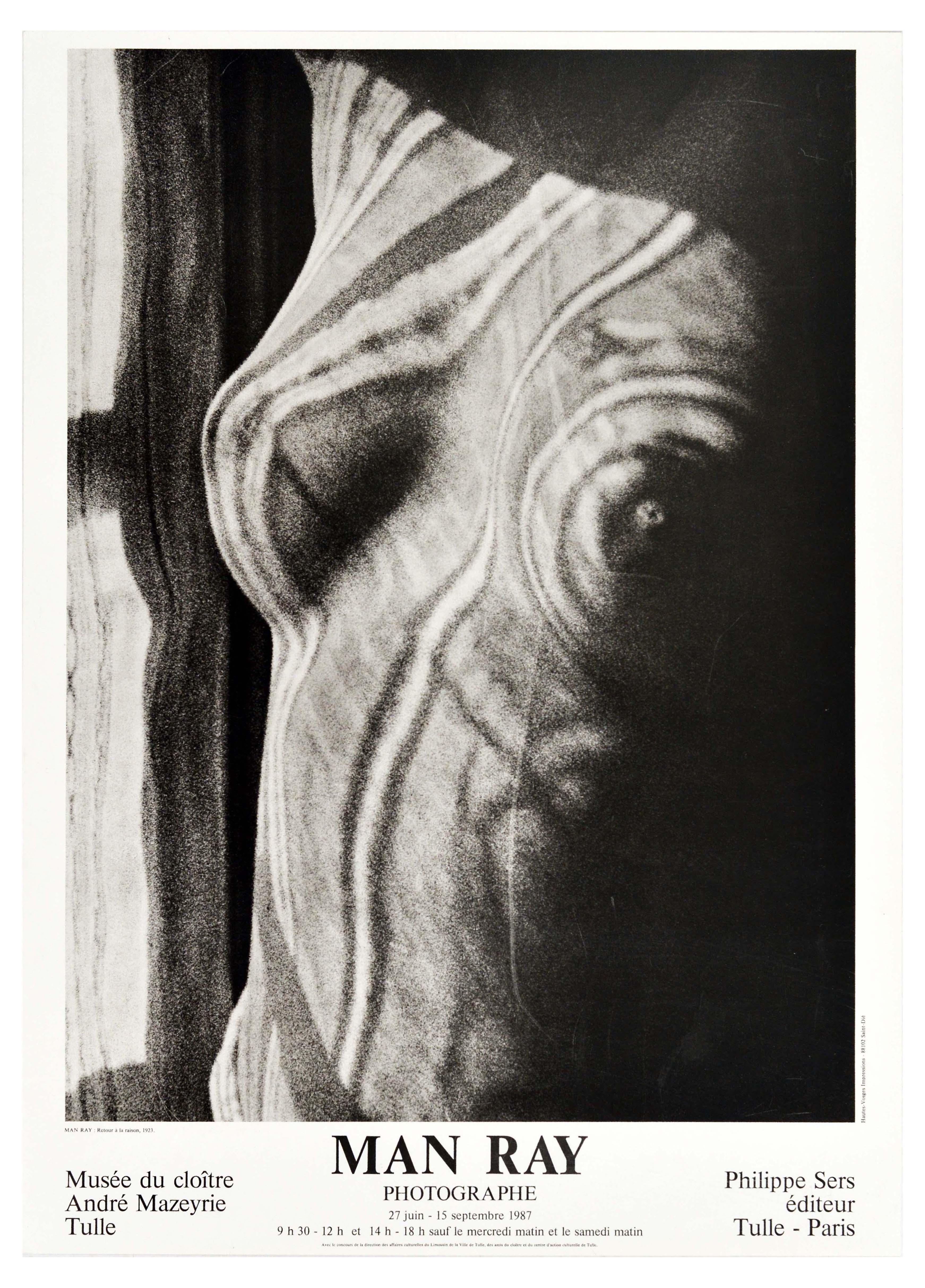 Advertising Poster Man Ray Photography Paris Dada Surrealism
