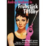 Movie Poster Breakfast at Tiffanys Audrey Hepburn Germany
