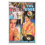 Advertising Poster Fireworks Arumugam Two Rose India