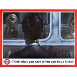 Advertising Poster LT Savings Scream Munch London