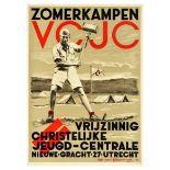 Propaganda Poster Liberal Christian Youth Summercamp Netherlands