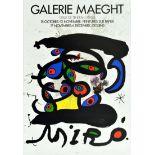 Advertising Poster Galerie Maeght Joan Miro Spain Surrealism