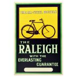 Advertising Poster The Raleigh All Steel Bicycle