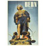 Travel Poster Bern Suisse Switzerland