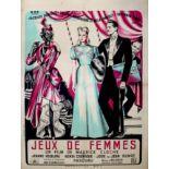 Movie Poster Jeux de Femmes Women Games
