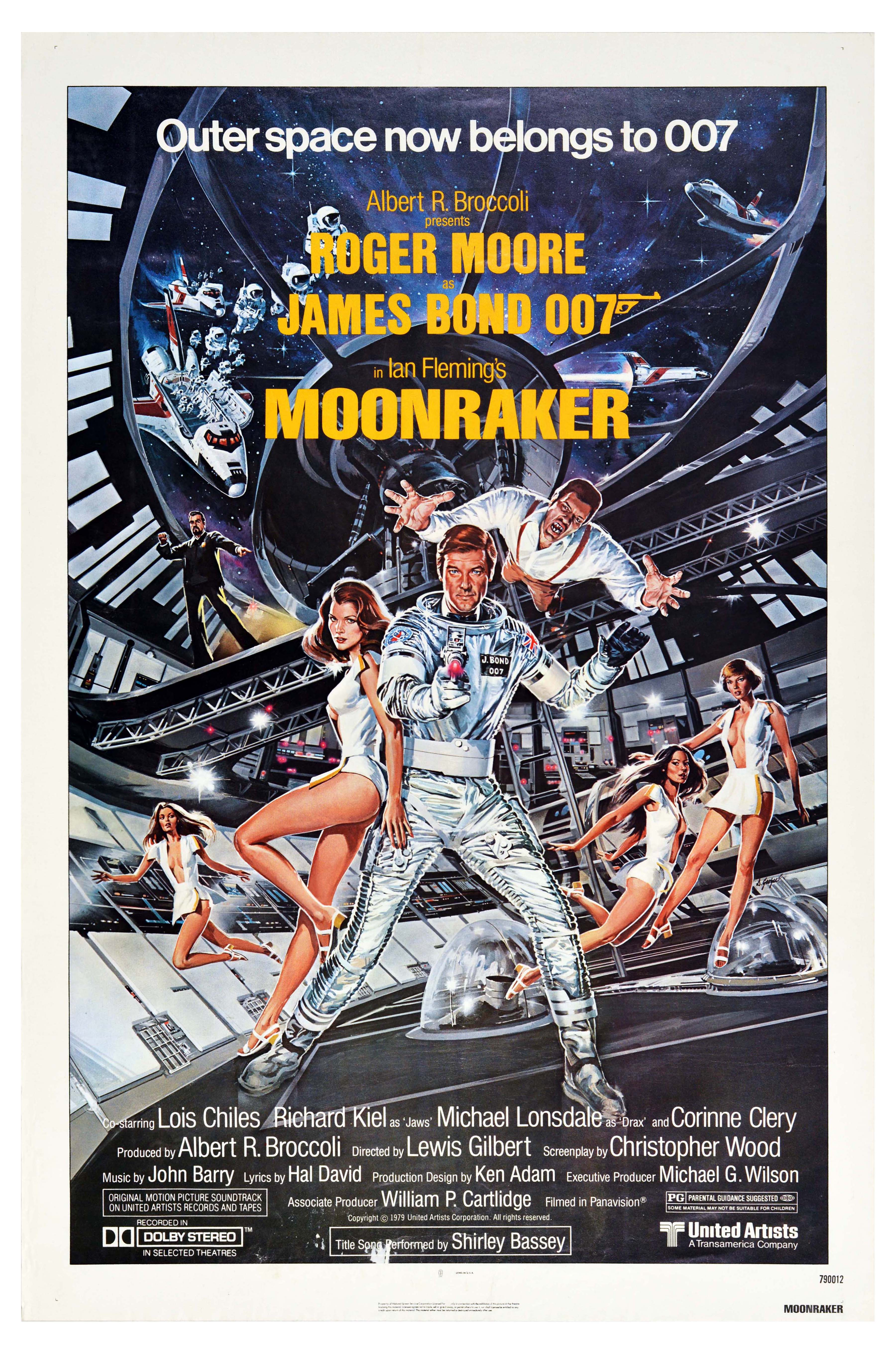 Movie Poster James Bond 007 Moonraker USA One Sheet