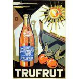 Advertising Poster Trufrut Emvin Cremona Malta