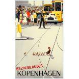 Travel Poster Wonderful Copenhagen Viggo Vagnby Denmark