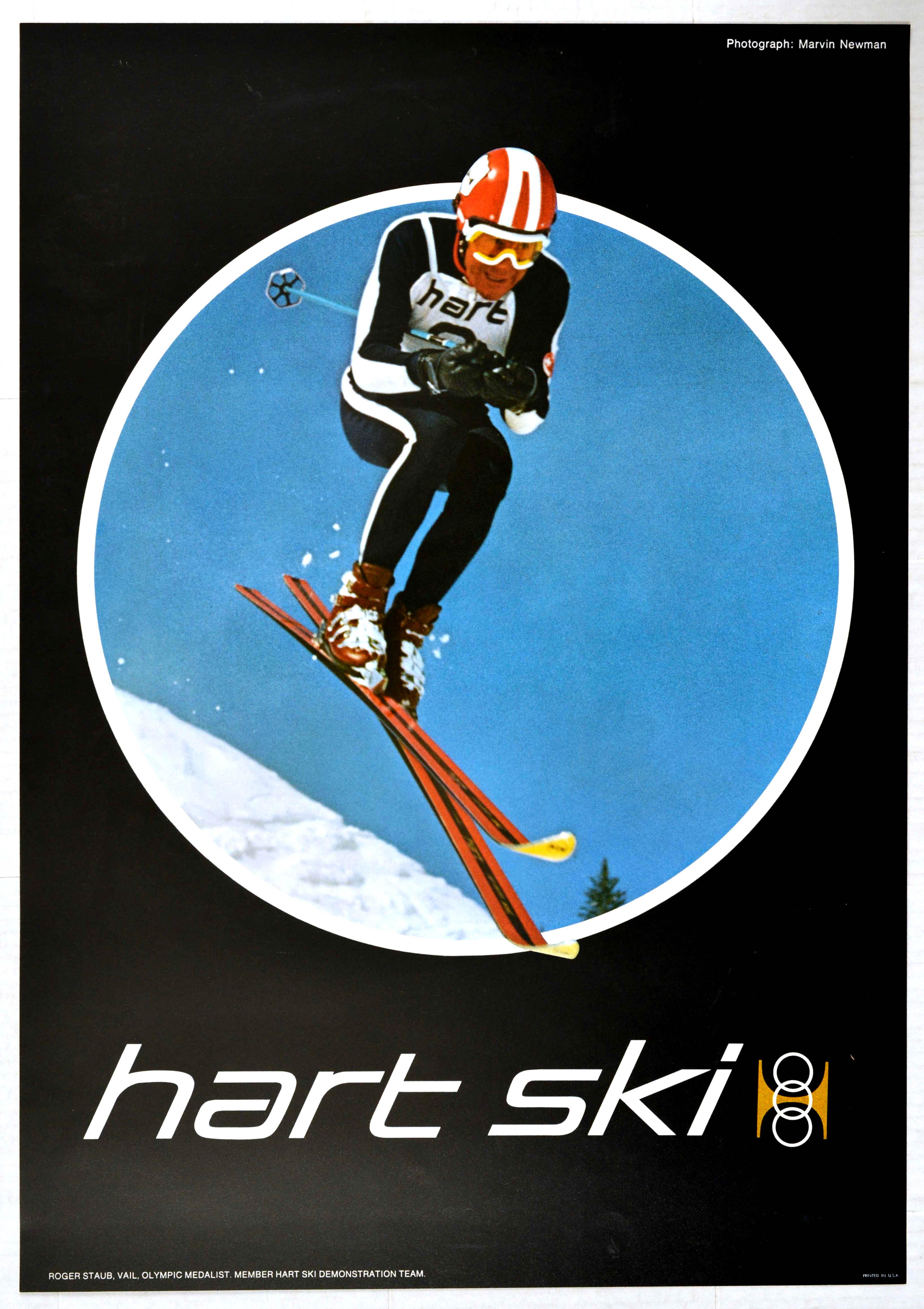 Sport Poster Hart Ski Roger Staub