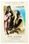 Advertising Poster Pablo Picasso Art Exhibition Paris 1972