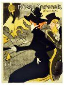 Advertising Poster Divan Japonais Toulouse Lautrec Montmartre Jane Avril