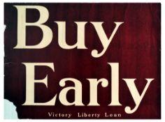 War Poster Victory Liberty Loan WWI USA