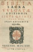 Biblia latina.