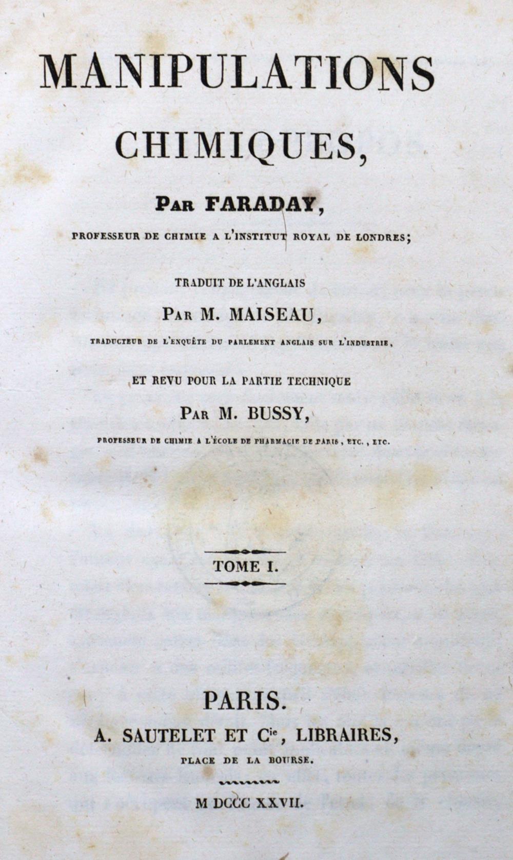 Faraday,(M.).