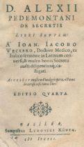 Alexius Pedemontanus (d.i. G.Ruscelli).