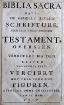 Biblia neerlandica.