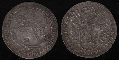 Braunschweig - Wolfenbüttel. Silber. Löser zu 1 1/2 Taler von 1664. August der Jüngere, Herzog zu Br