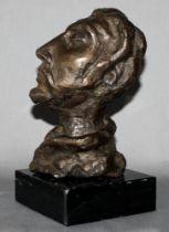 Metall. Bronze. Skulptur. Eugen, Heinrich [eigentl. Heinrich Eugen von Zitzewitz] (?). (Kopf mit erh