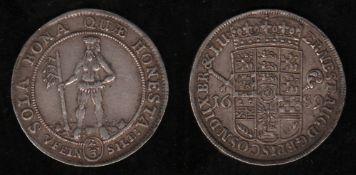Braunschweig - Lüneburg. Silber. 2/3 Taler 1689. Vorderseite - Umschrift: ERNEST AUG D G EPISC OSN D
