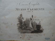 Clementi - Oeuvres Sonaten 2 Bde.