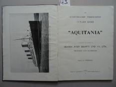 Aquitania, 1914