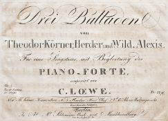 Loewe - Sammelband Noten