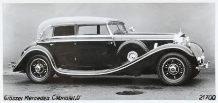 Sammlung Fotografien Mercedes