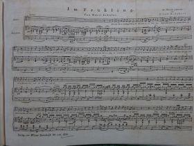 Schubert - Im Frühling