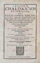 Buxtorf - Lexicon Chaldaicum Syriacum