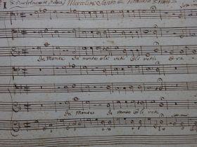 Felici - Notenabschrift