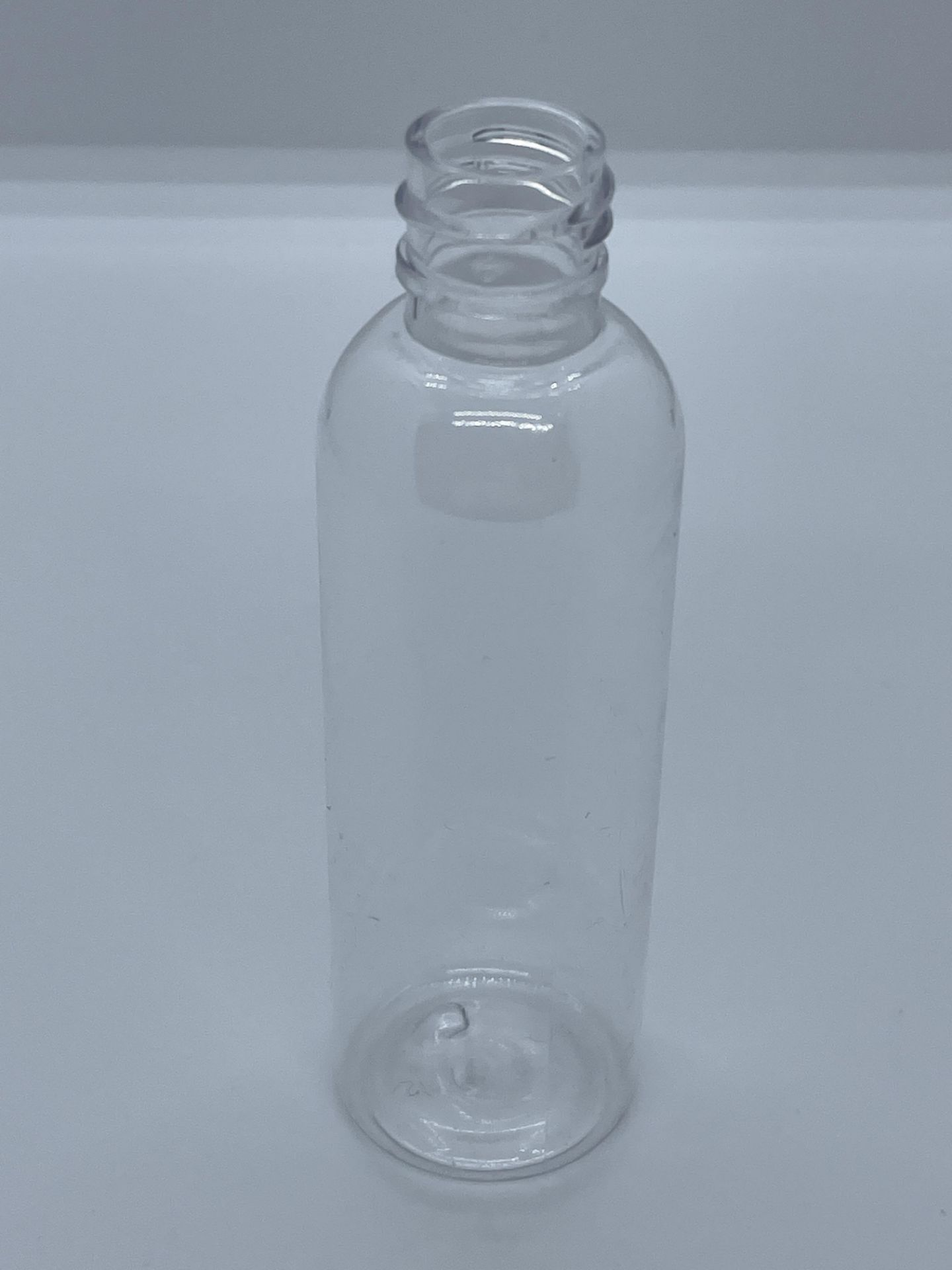 "99,500 - Clear Plastic Bullet 2 oz Empty Bottles, 18-410 Threading Neck, 4.25"" Tall 1.25"" Diameter - Image 2 of 5"