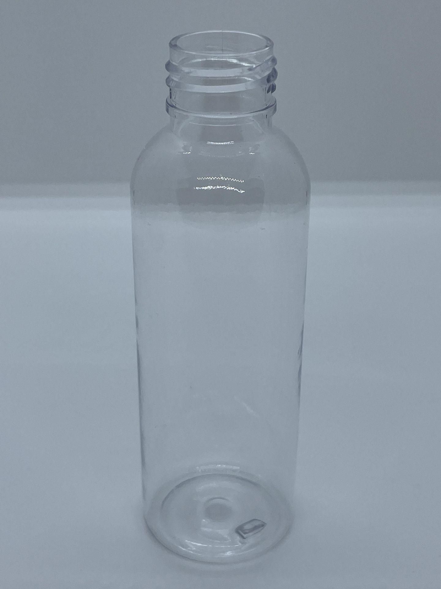 "96,000 - Clear Plastic Bullet 4 oz Empty Bottles, 24-410 Threading Neck, 5"" Tall, 1 5/8"" Diameter - Image 2 of 4"