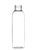 "96,000 - Clear Plastic Bullet 4 oz Empty Bottles, 24-410 Threading Neck, 5"" Tall, 1 5/8"" Diameter"