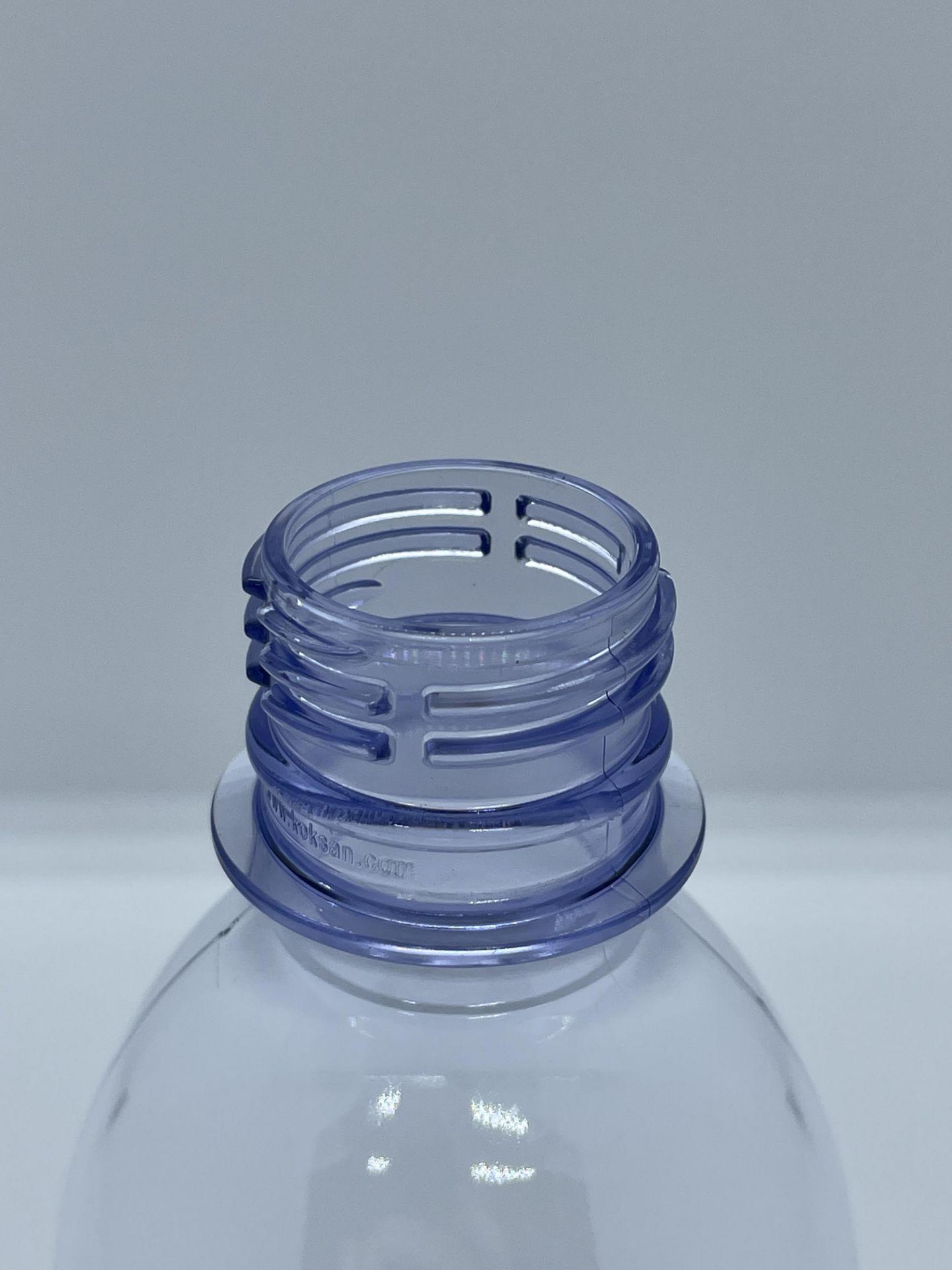 "158,000 - 8 oz Empty Plastic Bottles, Neck Threading 28-410, 5.25"" Tall x 2.25"" Diameter - Image 3 of 5"